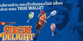 บริการผ่าน กระเป๋าเงินออนไลน์ สล็อต ฝาก-ถอน true wallet